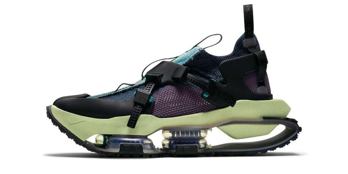 """CW9410-400 Nike ISPA Road Warrior """"Clear Jade"""" High Quality Sneakers"""