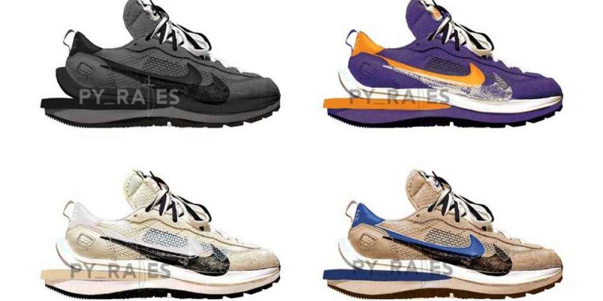 More sacai x Nike Vaporwaffles are Dropping in Spring 2021