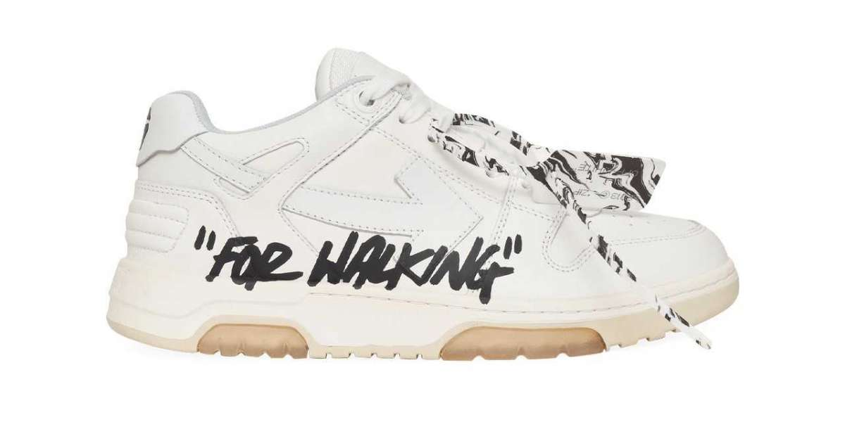"""Brand New Off-White™ """"Out of Office"""" Walking Sneakers"""