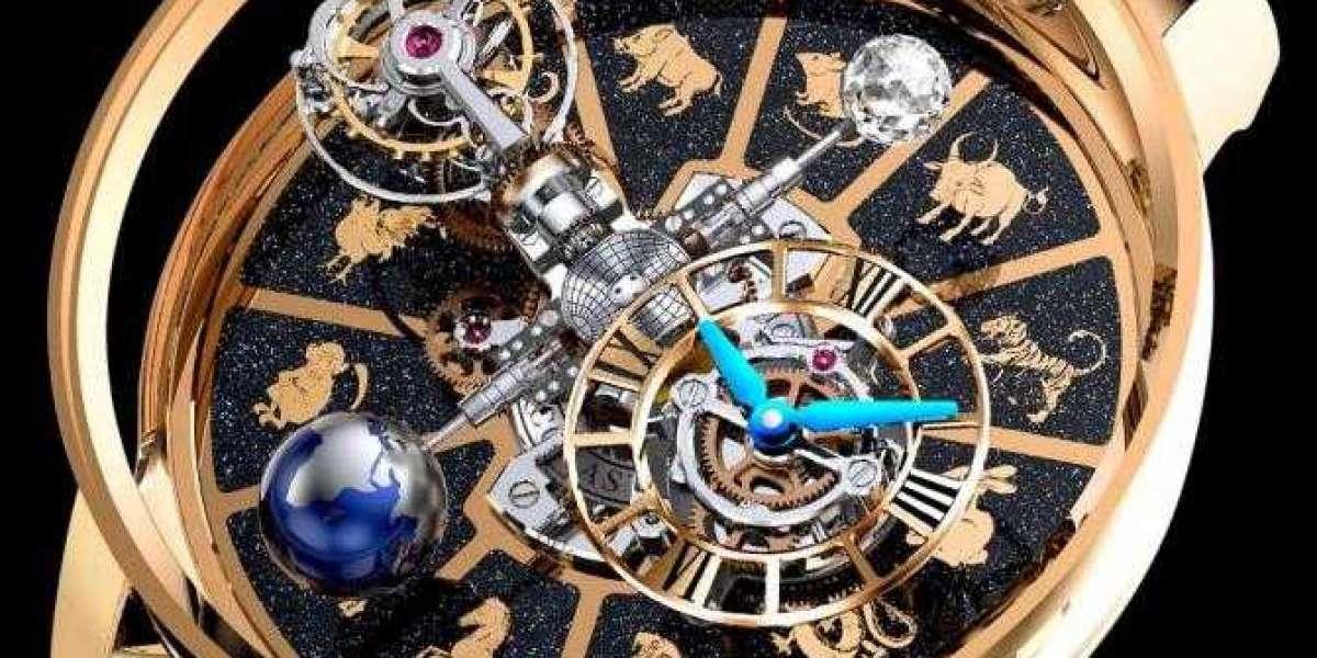 Greubel Forsey Diamond Set Balancier Contemporain Replica Watch