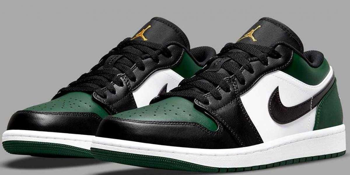 Where to Buy 553558-371 Air Jordan 1 Low Green Toe